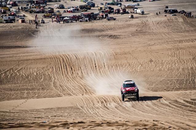 2019 Dakar Rally, Stage 10, Boris Garafulic (CHL), Filipe Palmeiro (POR) - MINI John Cooper Works Rally - X-raid MINI John Cooper Works Rally Team, #321- 17.01.2019