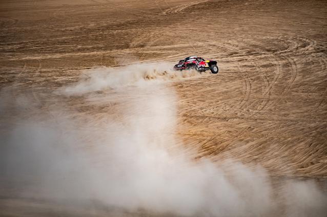 2019 Dakar, Stage 10, Carlos Sainz (ESP), Lucas Cruz (ESP) - MINI John Cooper Works Buggy - X-raid MINI John Cooper Works Team, #300 - 17.01.2019