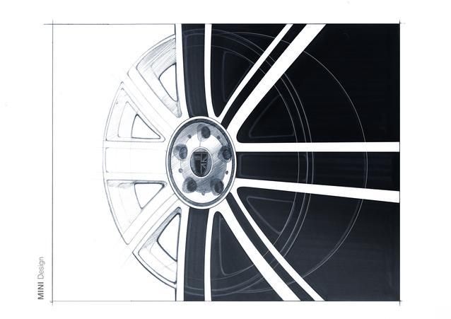 The new MINI Clubman. Design sketches.