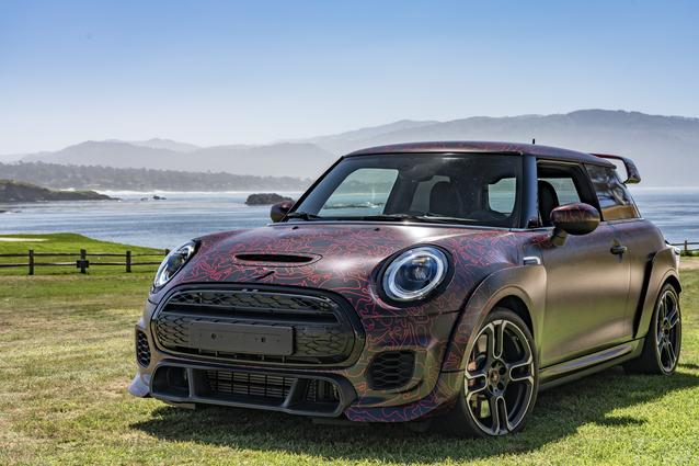MINI John Cooper Works GP Prototype (08/19).<br /> Prototype. Not specified. Vehicle is not yet for sale.