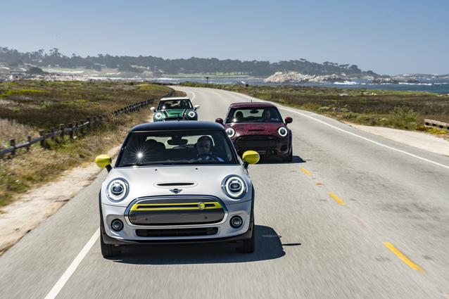 MINI Cooper SE, MINI John Cooper Works GP Prototype, MINI 60 Years Edition (08/19).<br />