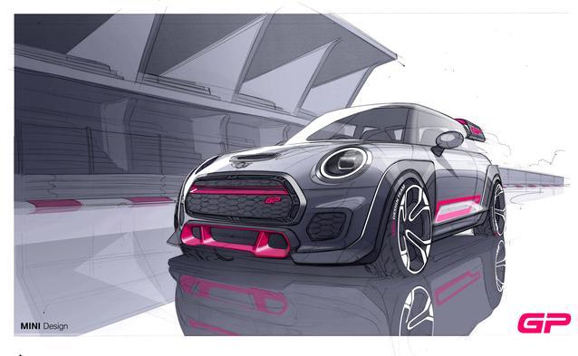 Design Renderings, 2021 MINI John Cooper Works GP