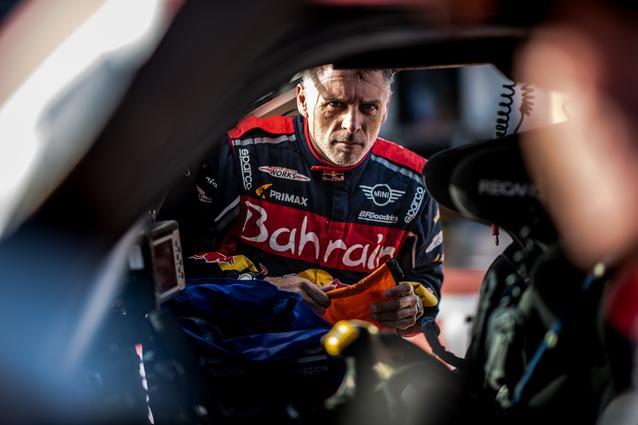 Munich (GER), 17th January 2020. Dakar Rally, Saudi Arabia, MINI JCW Buggy, Lucas Cruz.