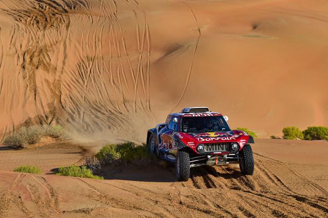 Munich (GER), 17th January 2020. Dakar Rally, Saudi Arabia, MINI JCW Buggy, Carlos Sainz.