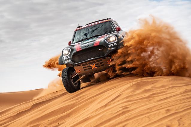 Munich (GER), 17th January 2020. Dakar Rally, Saudi Arabia, MINI JCW Rally, Orlando Terranova.
