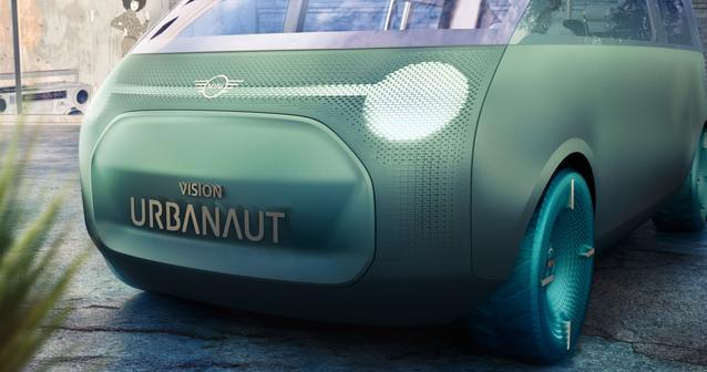 MINI Vision Urbanaut – Neutral Artwork (11/2020).