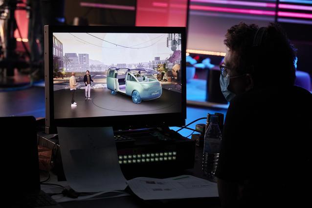MINI Vision Urbanaut - Behind the Scenes, Unveiling (11/2020).