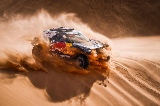 Munich (GER), 15th January 2021. Dakar Rally, MINI Motorsport, X-raid, Saudi Arabia, MINI John Cooper Works Buggy, Carlos Sainz.<br />