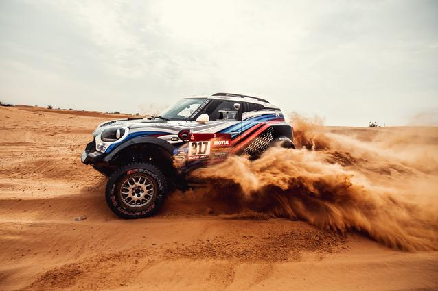 Munich (GER), 15th January 2021. Dakar Rally, MINI Motorsport, X-raid, Saudi Arabia, MINI John Cooper Works Rally, Vladimir Vasilyev.<br />