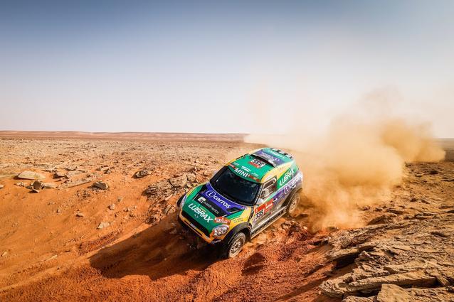 Munich (GER), 15th January 2021. Dakar Rally, MINI Motorsport, Saudi Arabia, MINI John Cooper Works Rally, Guilherme Spinelli.<br />
