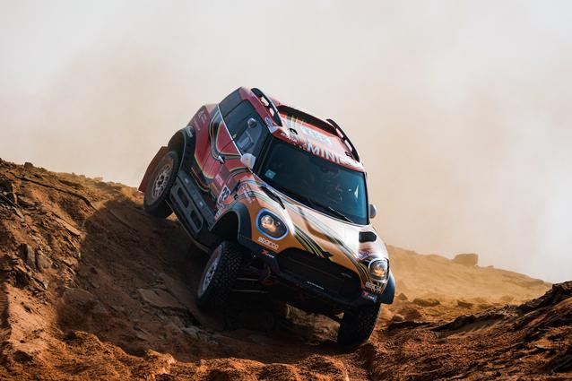 Munich (GER), 15th January 2021. Dakar Rally, MINI Motorsport, X-raid, Saudi Arabia, MINI John Cooper Works Rally, Victor Khoroshavsev.<br />
