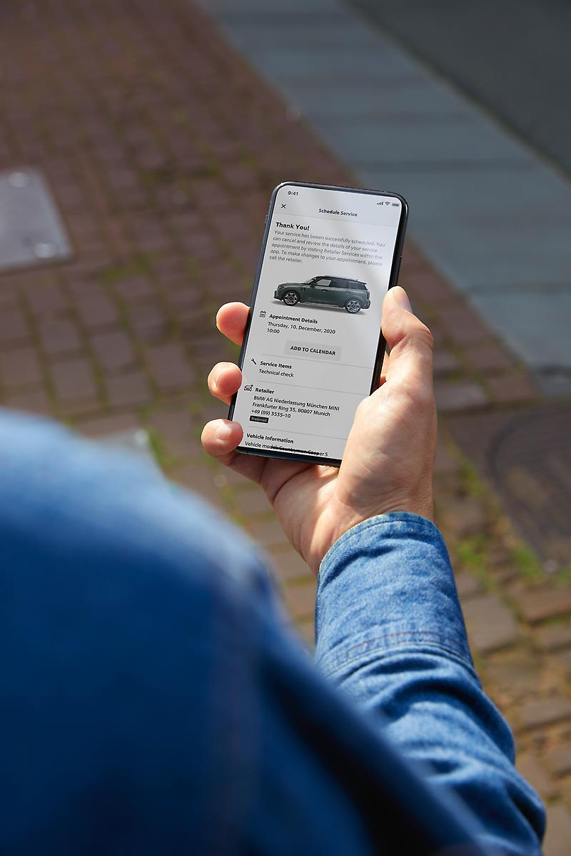 MINI USA CONNECTS CUSTOMERS WITH LAUNCH OF NEW MINI APP.