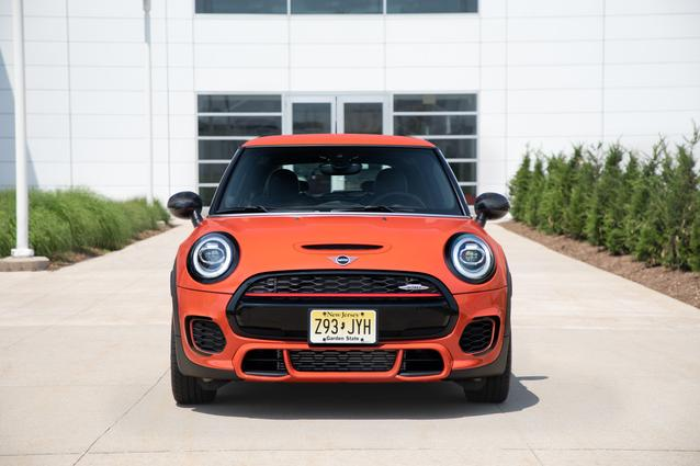 The new MINI John Cooper Works International Orange Edition