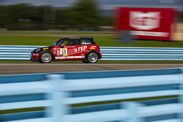 MINI John Cooper Works Team Takes Two Wins at Watkins Glen (Friday images)