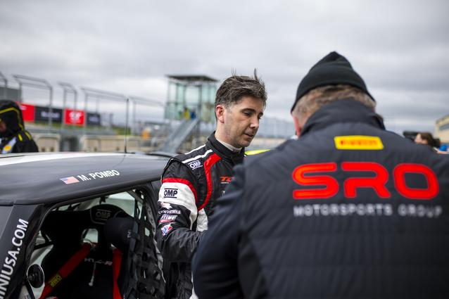 MARK POMBO PILOTS #59 STEP MINI JCW TO TWO SECOND PLACE FINISHES IN FIRST RACE WEEKEND OF THE 2019 SRO TC AMERICA RACE SERIES