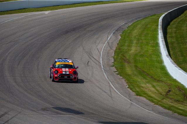 2017 Canadian Tire Motorsports Park- Thursday.Photo Credit: Images courtesy of the MINI JCW Race Team/LAP Motorsports LLC via Halston Pitman.