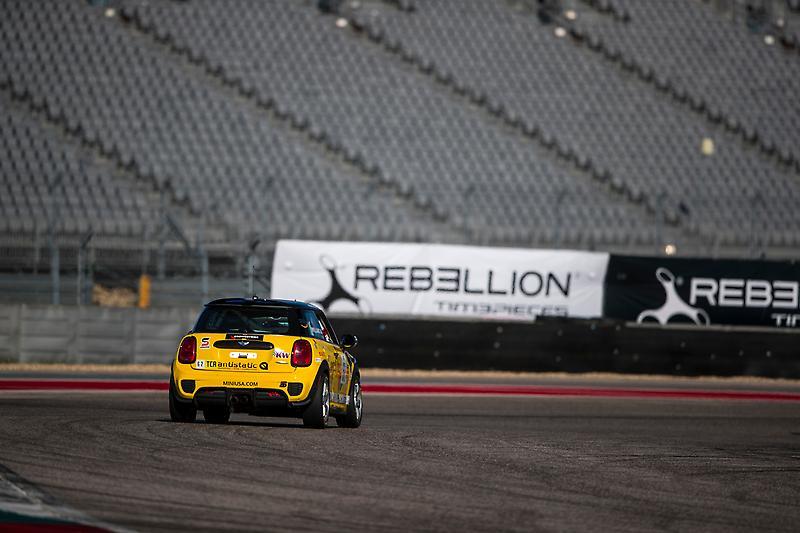 MINI John Cooper Works Team Debuts Touring Car at Circuit of the Americas