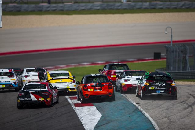 The MINI JCW Team hit the track for the SRO TC America race weekend at Circuit of the Americas.Photo Credit: Images courtesy of the MINI JCW Race Team/LAP Motorsports LLC via Halston Pitman