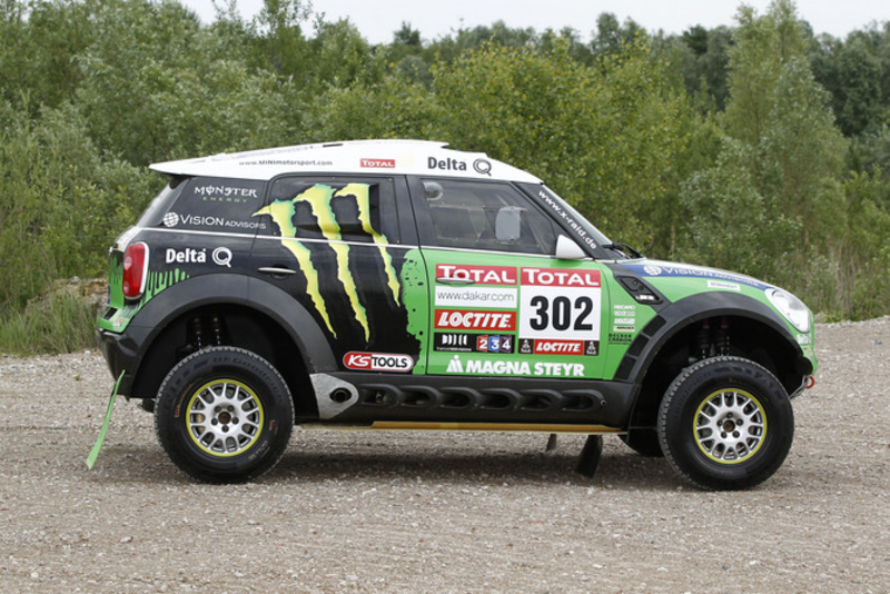 Monster Energy X-raid Team Take on the Dakar Rally in MINI ALL4 Racing cars, based on the MINI Countryman.