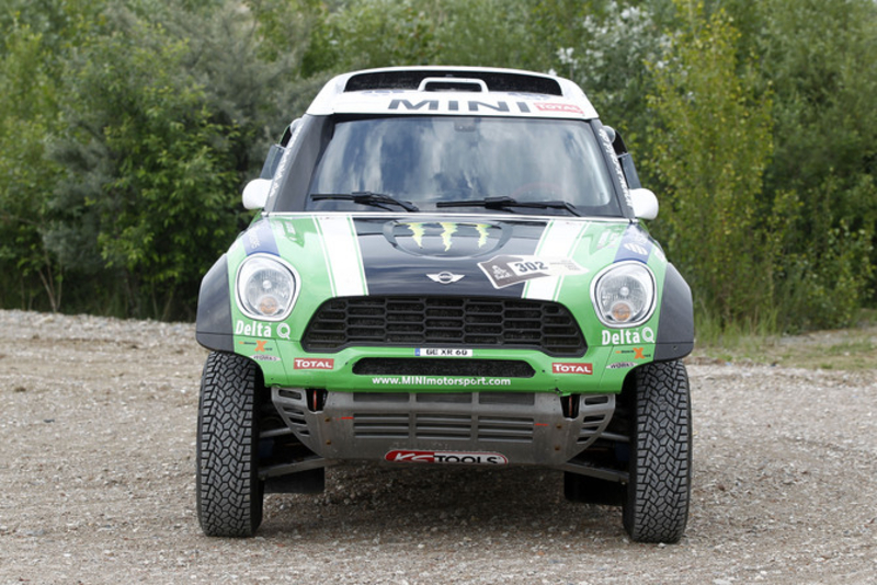 Monster Energy X-raid Team Take on the Dakar Rally in MINI ALL4 Racing cars, based on the MINI Countryman.