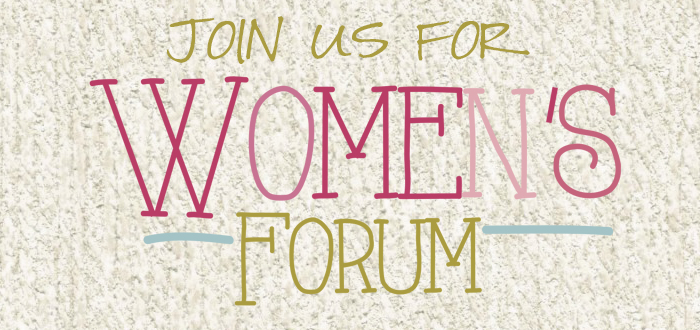 Join us for LifeWay Women's Forum!