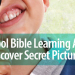 Preschool Bible Learning Activity: Discover Secret Pictures