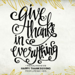 Happy Thanksgiving from LifeWay Kids!