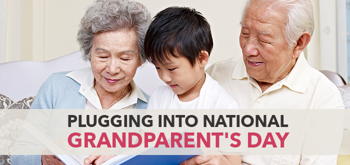 Plugging Into National Grandparent's Day