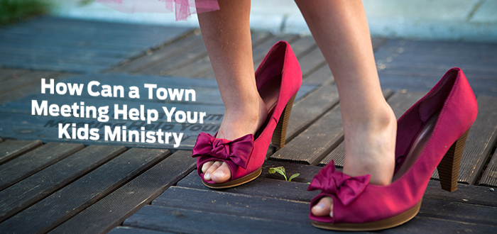 How Can a Town Meeting Help Your Kids Ministry?