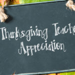 Thanksgiving Teacher Appreciation