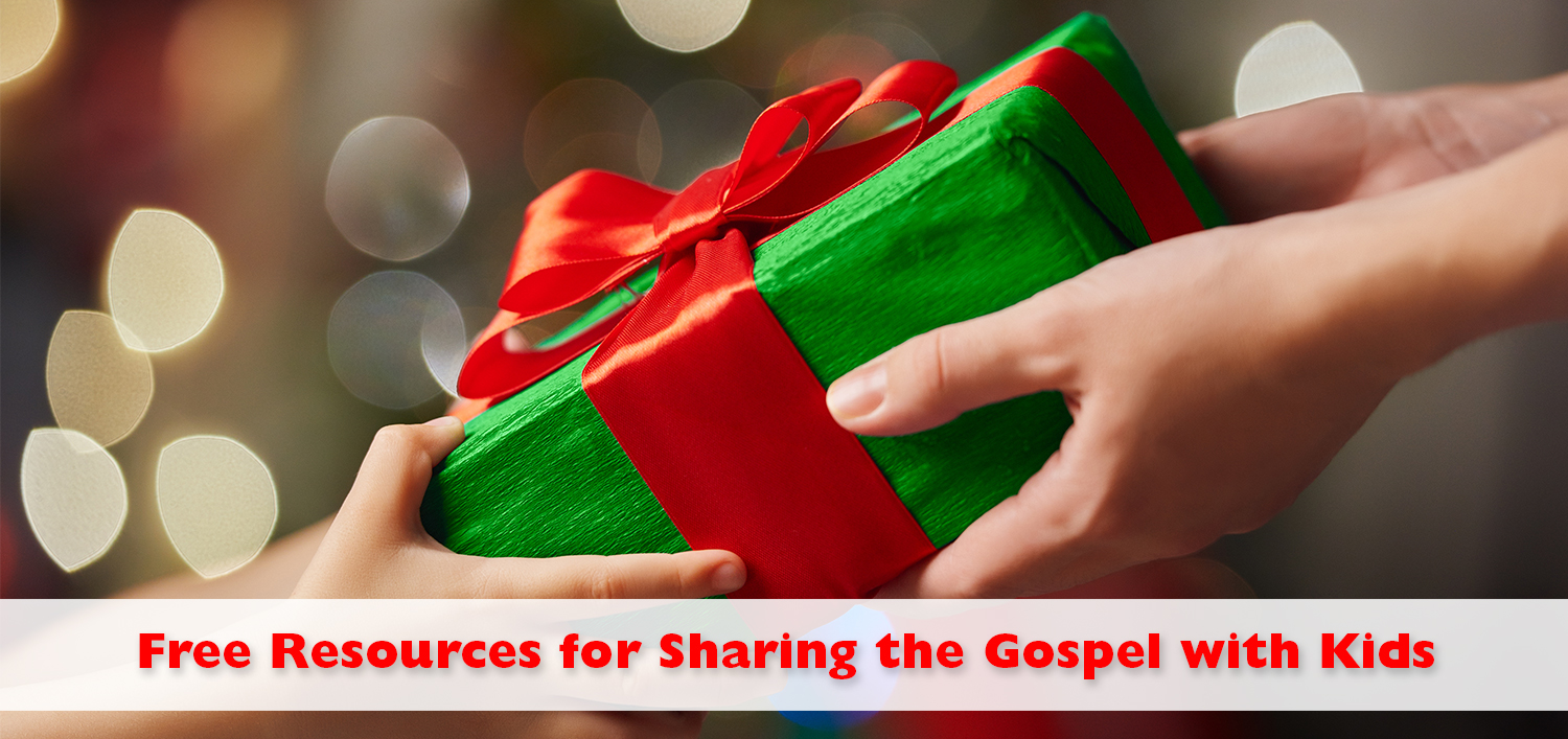 Free Resources for Sharing Jesus with Kids - Kids Ministry