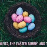 Preschoolers, The Easter Bunny, and The Cross