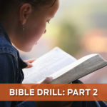 Bible Drill (Part 2)