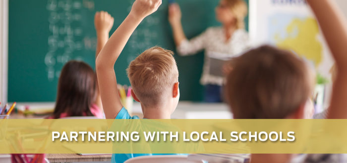 Partnering with Local Schools