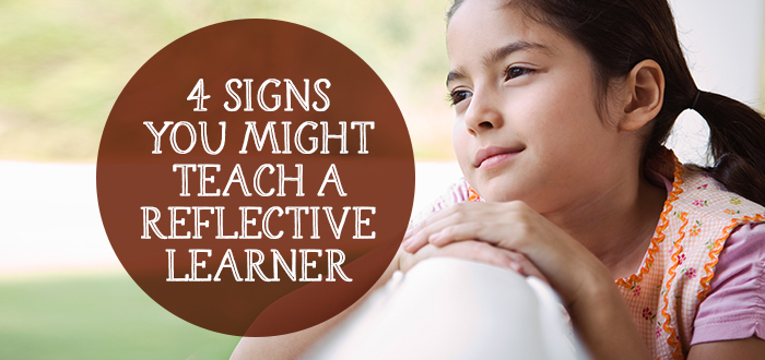 4 Signs You Might Teach A Reflective Learner