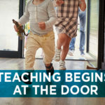 Teaching Begins at the Door