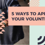 5 Ways to Appreciate Your Volunteers