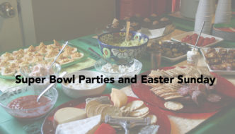 super bowl party Easter