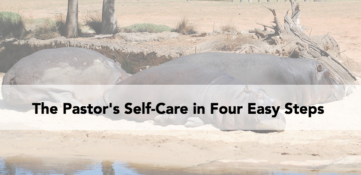 pastor self-care ministry