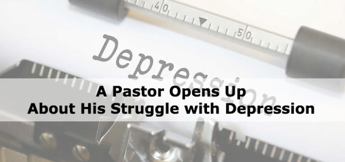 A Pastor Opens Up About His Struggle with Depression