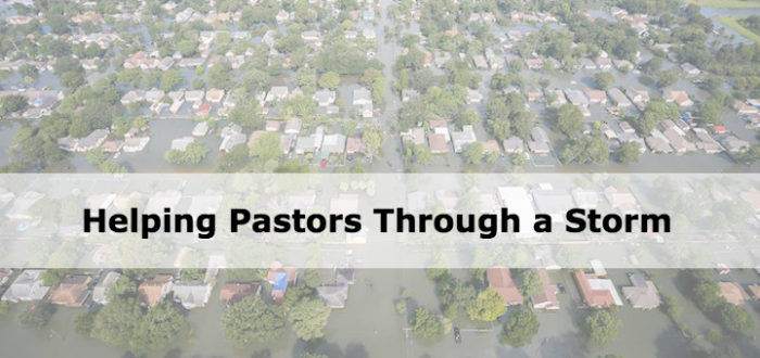 Helping Pastors Through a Storm
