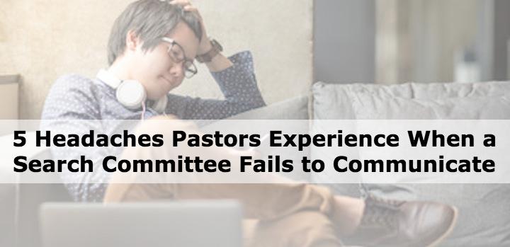 headache pastor search