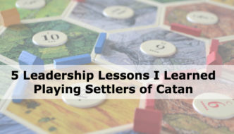 leadership lessons settlers of catan