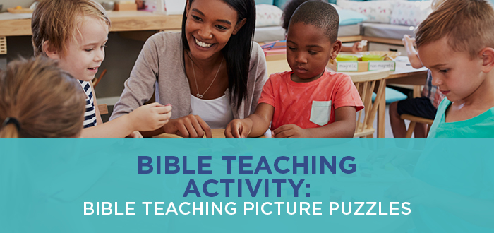 Bible Teaching Activity: Bible Teaching Picture Puzzles