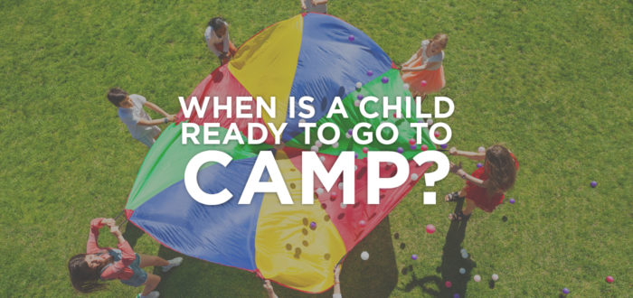 When is a child ready to go to overnight camp?