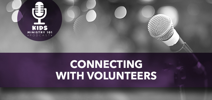 Connecting with Volunteers
