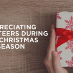 Appreciating Volunteers During the Christmas Season