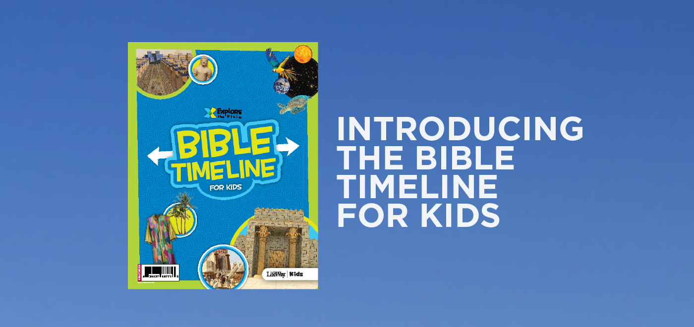 Introducing the Bible Timeline for Kids - Kids Ministry