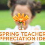 Spring Teacher Appreciation Idea