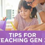 Tips for Teaching Gen Z